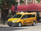 The next-generation 2014 Transit Connect Taxi will be available early