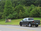 The test-drive took journalists through the scenic Natchez-Trace