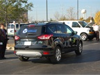 TransiTaxi Autogas brought this propane-fueled Ford Escape to the