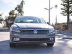 The 2016-MY Passat arrives with a sportier look, including a new hood