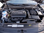 This Passat is powered by the 1.8L TSI mated to a 6-speed automatic