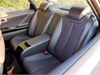 Rear bucket seats provide comfort for backseat passengers.