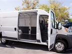 The ProMaster 2500 offers 460 cubic feet of cargo volume.