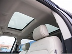The panoramic moonroof is standard.