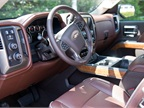 The Silverado offers seat heating and cooling with 12-way power