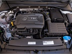 All Golf SportWagens are powered by a 1.8L inline-four that makes 170