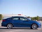 Hyundai has lengthened its mid-size sedan for 2015.