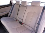 Rear bench seating accomodates three passengers.