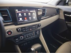 An 8-inch touchscreen displays infotainment from the UVO system.