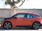 The BMW i3 is 157.4 inches long, 69.9 inches wide, and 62.1 inches