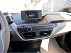 The BMW Business Navigation system displays a variety of info on a