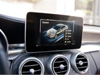 A new heads-up display features a 8.4-inch screen for the COMAND