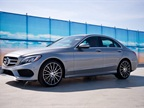 For the 2015-MY, Mercedes-Benz lightened the weight of the C-Class