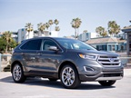 This 2015 Edge Titanium pairs the 2.0L EcoBoost with AWD.
