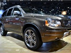 Volvo showed its XC90 SUV at the auto show. For 2013, the XC90