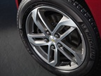 The 17-inch aluminum wheels come on the LT model and the new 18-inch