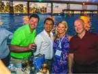The LeasePlan Dinner cruise stetched into the early evening, giving