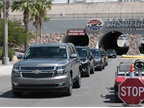 The ride and drive detailed how GM vehicles can improve fleet safety,
