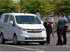 The Chevrolet City Express attracted much fleet manager interest. In