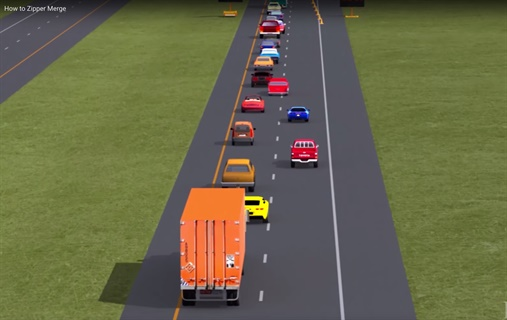 How to Zipper Merge - Videos - Safety & Accident ...