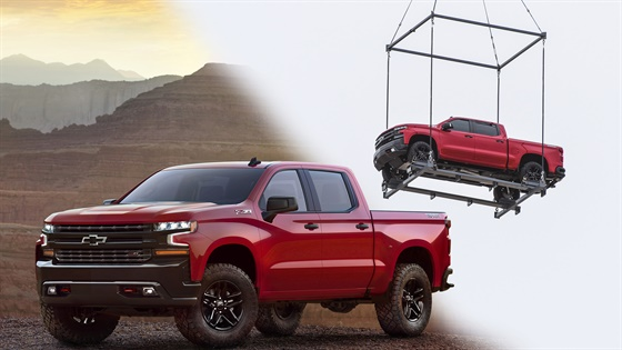 Blue Book Value For Trucks >> 2019 Chevrolet Silverado: Helicopter Reveal - Videos - Vehicle Research - Automotive Fleet