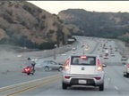 Road Rage on a Calif. Freeway
