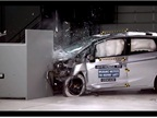 2015 Honda Fit's IIHS Small Overlap Crash Test