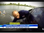 How to Escape a Car Sinking in Water