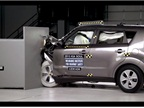2015 Kia Soul Small Overlap IIHS Crash Test