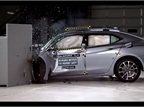 2015 Acura TLX IIHS Crash Test