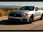 The 2015 Ford Mustang on the Open Road