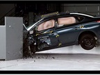 Nissan Sentra's IIHS Small Overlap Crash Test