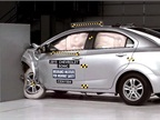 Chevrolet Sonic's Small Overlap Crash Test