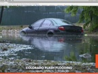 Flood Waters Close Roads in Colorado Springs