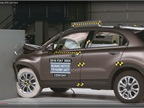 Fiat 500X Grabs Top Crash Test Scores