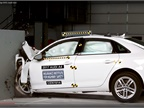 Audi A4 Aces Crash Tests