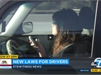 New Traffic Laws in California