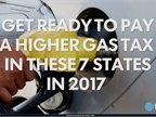 7 States See Higher Gas Taxes