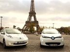 Renault-Nissan EV Shuttle at COP21