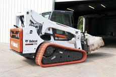 <p>Pictured is the Bobcat T770 with multi-bar lug rubber track.</p>