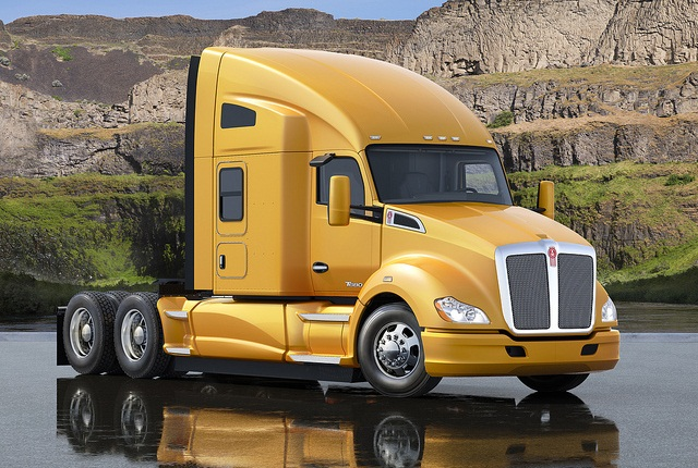 Pictured is the T680 76-inch Sleeper.