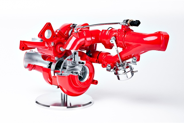 Cummins Turbo Technologies Next Gen Two-Stage Turbo