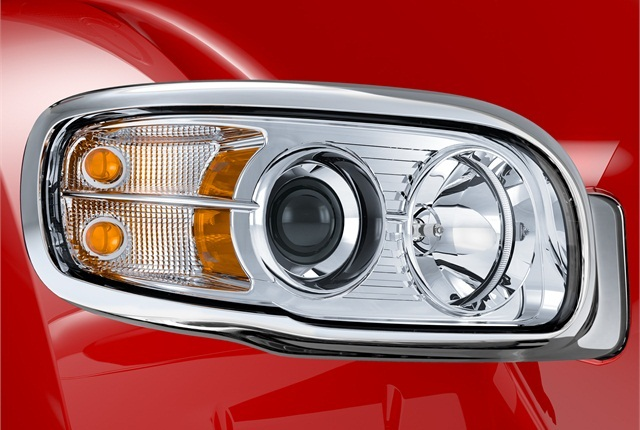 New headlamps on the new vocational Model 567.