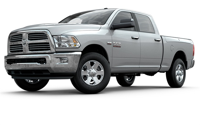 Ram 2500 and 3500 HD pickups now have choice of 5.7- and 6.4-liter Hemi gasoline V-8s or Cummins Turbo Diesel. Hemi 6.4 will also extend gasoline option to formerly diesel-only Ram 4500 and 5500 chassis-cabs.