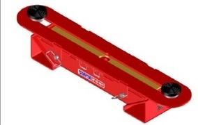 Photo of Low-Profile Light-Duty Vehicle Lift Adapter courtesy of Steril-Koni.