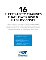 16 Fleet Safety Changes that Lower Risk & Liability Costs