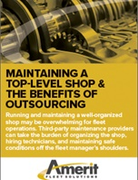 Maintaining a Top-Level Shop & the Benefits of Outsourcing