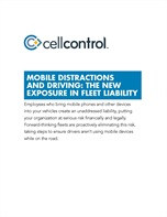 Mobile Distractions and Driving: The New Exposure in Fleet Liability