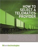 How to Select a Telematics Provider