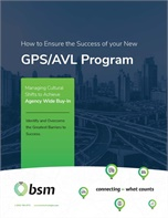 How to Ensure the Success of you New GPS/AVL Program